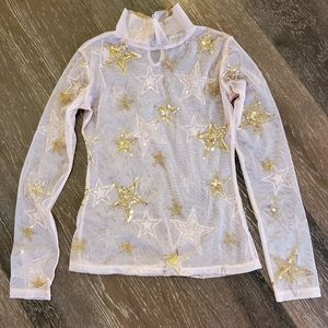 Horoscopes Stars Mesh Shirt